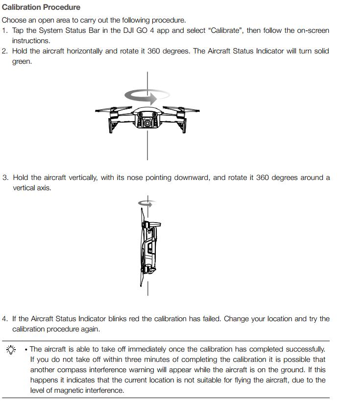 Mavic Air: constant compass calibration fails | DJI FORUM