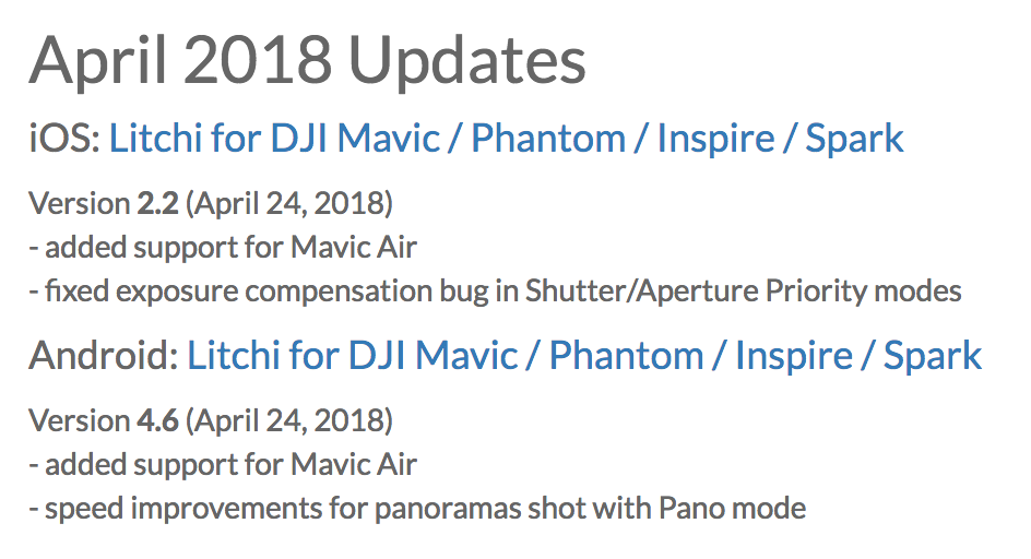 Litchi will not connect  UPDATE | DJI FORUM
