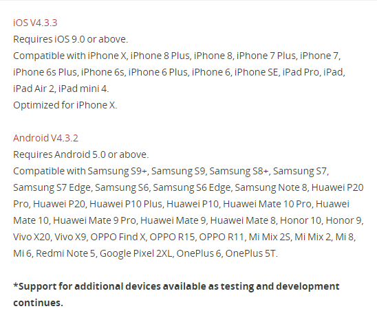 Android devices | DJI FORUM