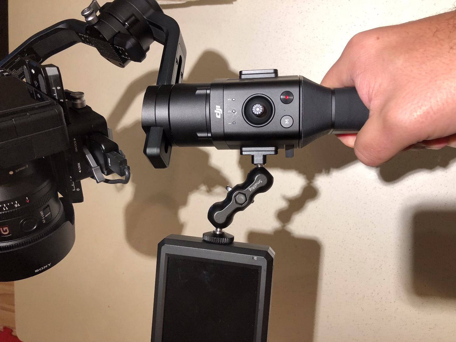 Mounting External Monitor on Ronin S | DJI FORUM