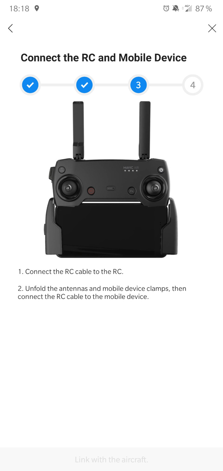 I CAN NOT USE RC MAVIC AIR,SOLID RED LIGHT PROBLEM | DJI FORUM