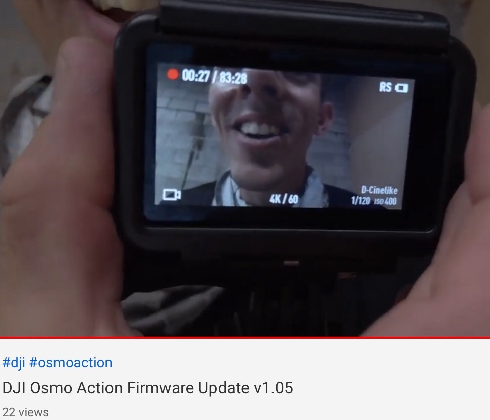 New Osmo Action Firmware Released (08/06/2019) | DJI FORUM
