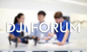 DJI Products forum